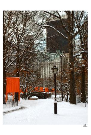 The Gates and Love Bridge, Central Park