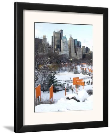 The Gates and Wollman Rink, Central Park by Igor Maloratsky