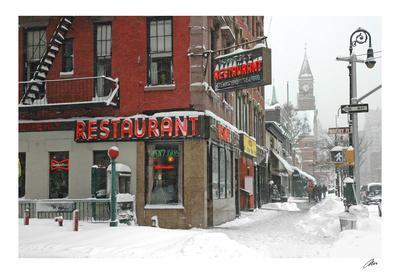 Waverly Restaurant, Winter
