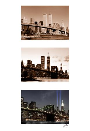 World Trade Center Memorial Triptych by Igor Maloratsky