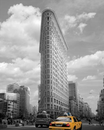 Yellow Cabs at Flatiron Building by Igor Maloratsky