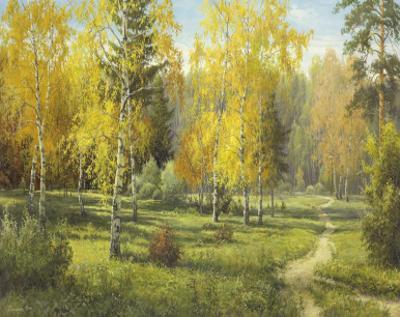 Autumn Way I by Igor Priscepa