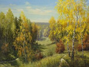 Autumn Way II by Igor Priscepa