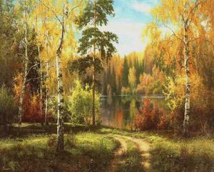 Autumn Way III by Igor Priscepa