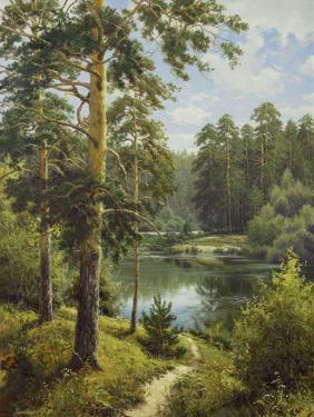 Slowly River II by Igor Priscepa