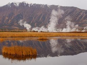 Geysers and Fumeroles of the Uzon Volcano, Kronotsky Zapovednik Reserve, Kamchatka, Russia by Igor Shpilenok