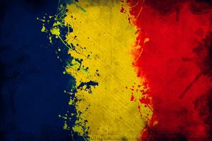 Romanian Flag by igor stevanovic