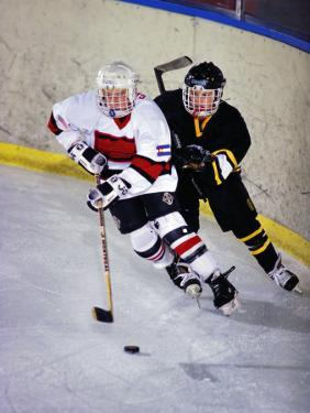 Iice Hockey Players in Action