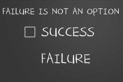 Failure Is Not An Option by IJdema