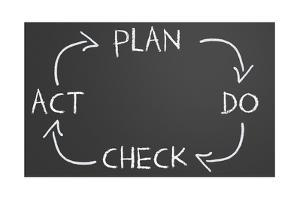 Plan Do Check Act Cycle by IJdema