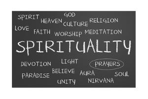 Spirituality Word Cloud by IJdema