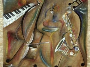 Burlap Sax by Ikahl Beckford