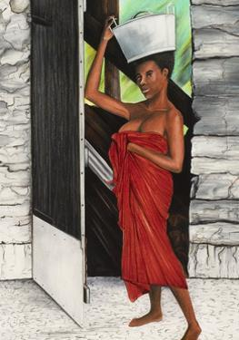 Draped in Red by Ikahl Beckford