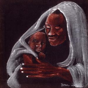 Father and Son, 2003 by Ikahl Beckford