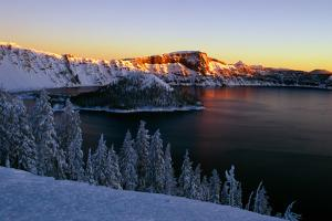 Crater Lake II by Ike Leahy