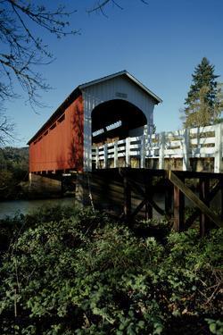 Currin Covered Bridge by Ike Leahy