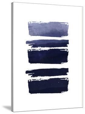Blue Watercolor Strokes by Ikonolexi