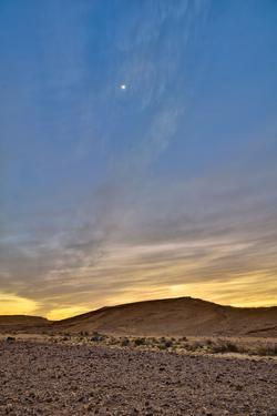Moon over the Desert by Ilan Shacham