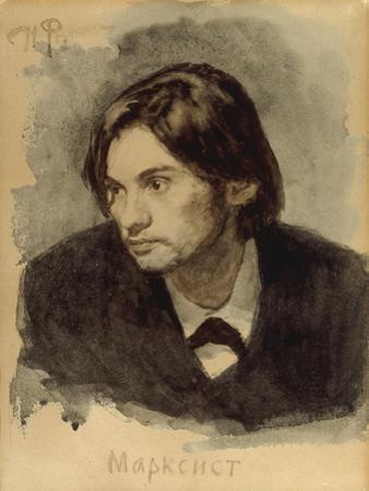 The Marxist by Ilia Efimovich Repin