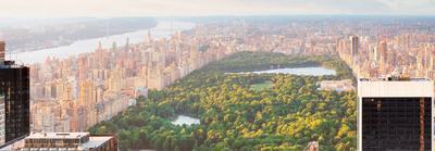 Manhattan at Sunset-New York
