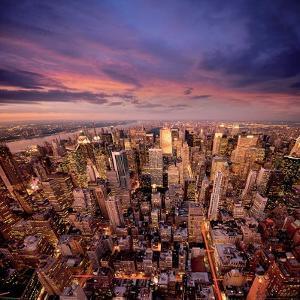 Big Apple after Sunset 1 by Ilja Masik