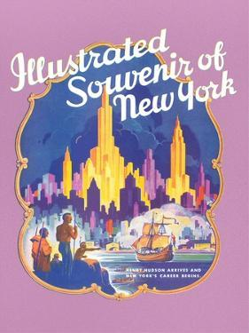 Illustrated Souvenir of New York City, Golden Hind
