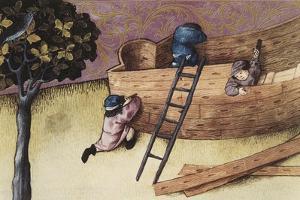 Illustration About the Teak Tree