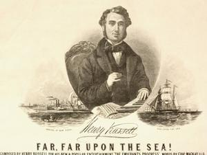 Illustration Advertising Composer Henry Russell in New York