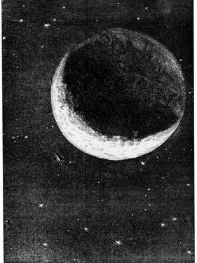 Illustration from De La Terre a La Lune by Jules Verne, 1865