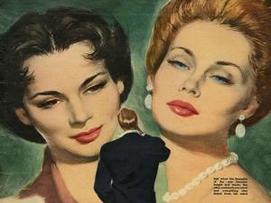 Illustration from 'John Bull', 1953