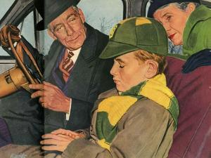 Illustration from 'John Bull', 1957