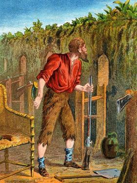 Illustration from Robinson Crusoe