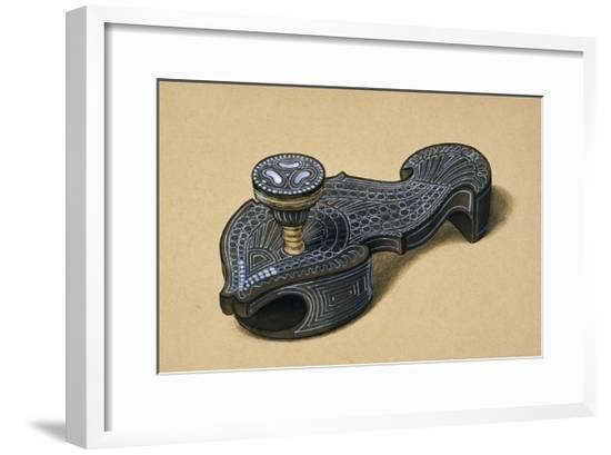 Illustration of a Object--Framed Giclee Print