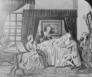 Image result for benjamin franklin's death in 1790