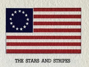 Illustration of Original American Flag