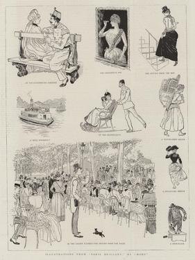 Illustrations from Paris Brillant