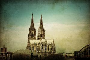 View of Gothic Cathedral in Cologne, Germany by ilolab