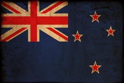 Vintage Flag Of New Zealand