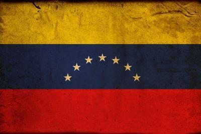 Vintage Flag Of Venezuela by ilolab