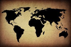 Vintage World Map by ilolab