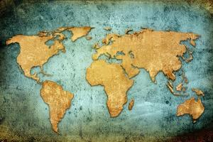 World Map Textures And Backgrounds by ilolab