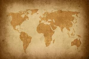 World Map-Vintage by ilolab
