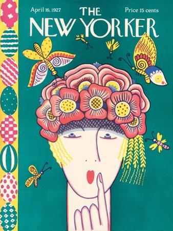 The New Yorker Cover - April 16, 1927 by Ilonka Karasz