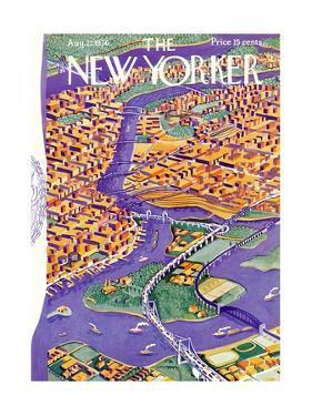 The New Yorker Cover - August 22, 1936 by Ilonka Karasz