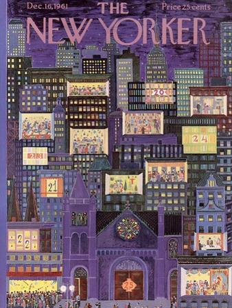The New Yorker Cover - December 16, 1961