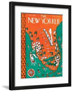 The New Yorker Cover - February 13, 1926 by Ilonka Karasz