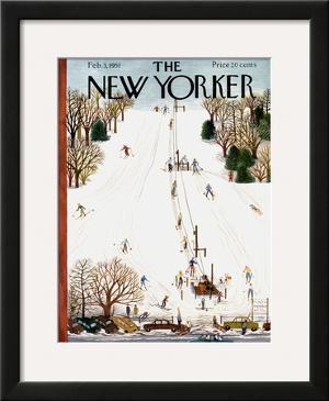 The New Yorker Cover - February 3, 1951 by Ilonka Karasz