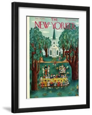 The New Yorker Cover - July 24, 1943 by Ilonka Karasz