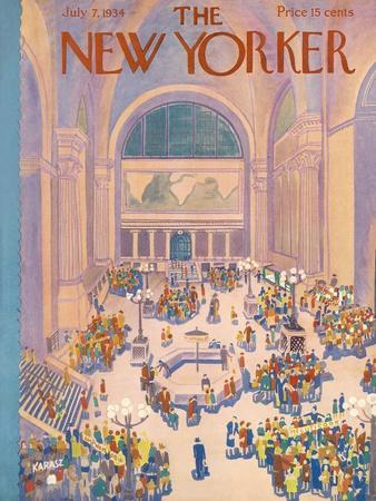 The New Yorker Cover - July 7, 1934