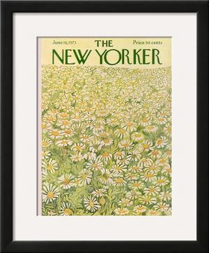 The New Yorker Cover - June 16, 1973 by Ilonka Karasz
